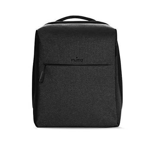 Puro Matrix Zaino per MacBook Pro 15'' e Notebook da 14'', Nero
