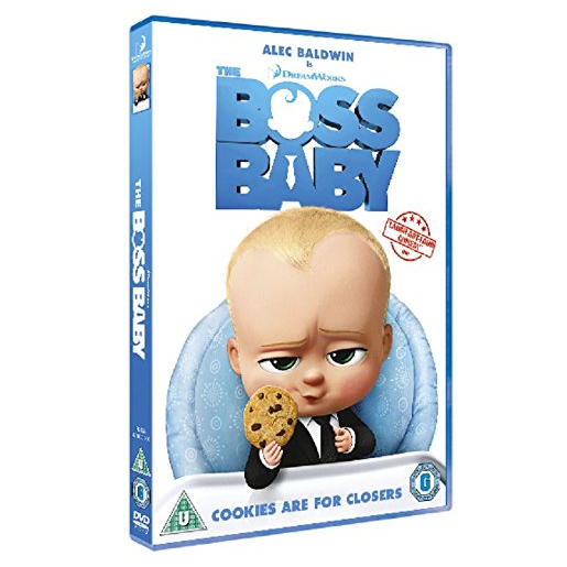 Image of The Boss Baby, (DVD) 2D ITA