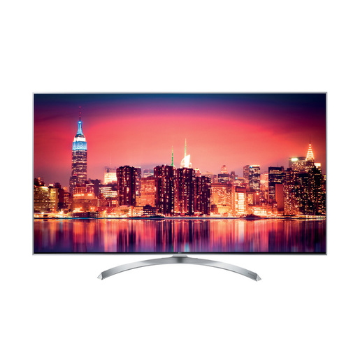 Image of LG 55SJ810V 55'' 4K Ultra HD Smart TV Wi-Fi Argento, Bianco LED TV