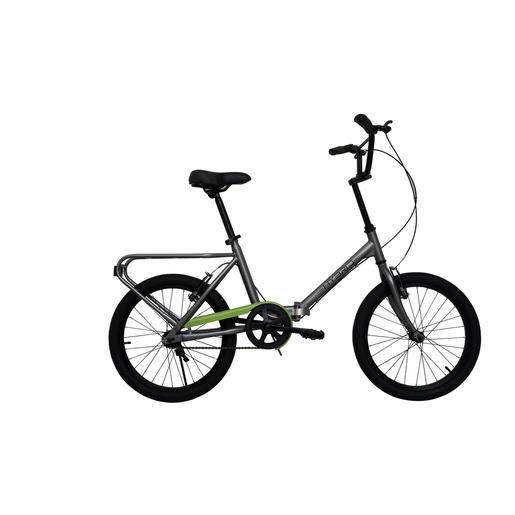 Image of BeBikes Hybrid T Città Acciaio Titanio bicicletta