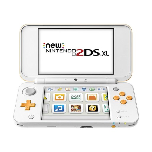 Image of Nintendo New 2DS XL 4.88'' Touch screen Wi-Fi Arancione, Bianco console