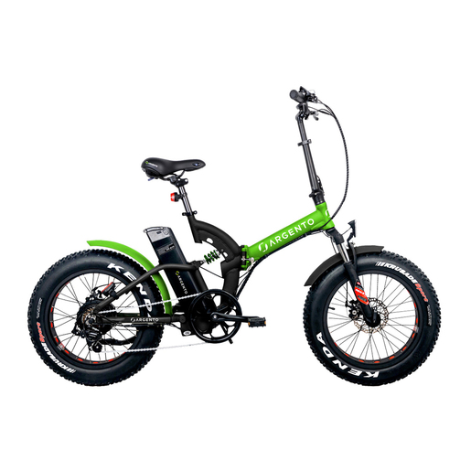 Image of Argento Bike Bimax Nero, Green 50,8 cm (20'') Lithium-Ion (Li-Ion) 25 k