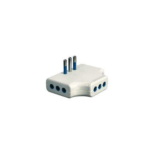 Image of Garanti 87250-G adattatore per presa di corrente Tipo L (IT) Bianco