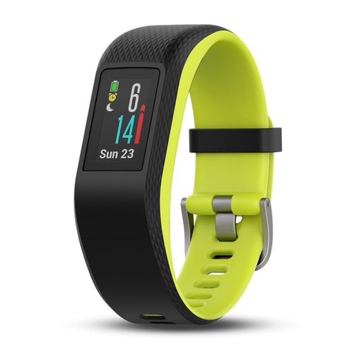 Garmin Wristband activity tracker Nero, Lime MIP