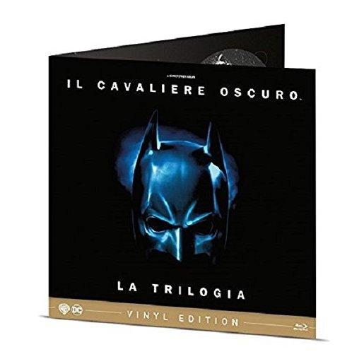 Image of The Dark Knight Trilogy - Vinyl Edition (Blu-Ray)