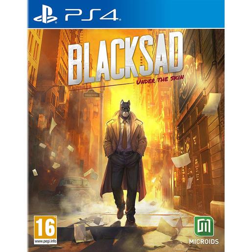 Image of BLACKSAD - UNDER THE SKIN PS4