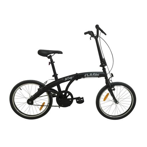 Image of BeBikes Be Easy NK Adulto unisex Città Acciaio Nero bicicletta