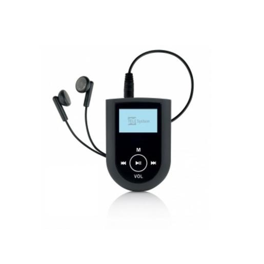 Image of Telesystem SNAP run Lettore MP3 8GB Nero