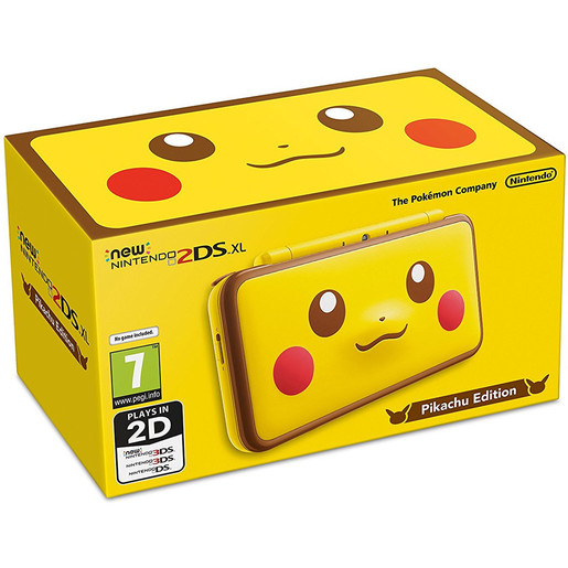 Image of Nintendo New 2DS XL Pikachu Edition - edizione limitata
