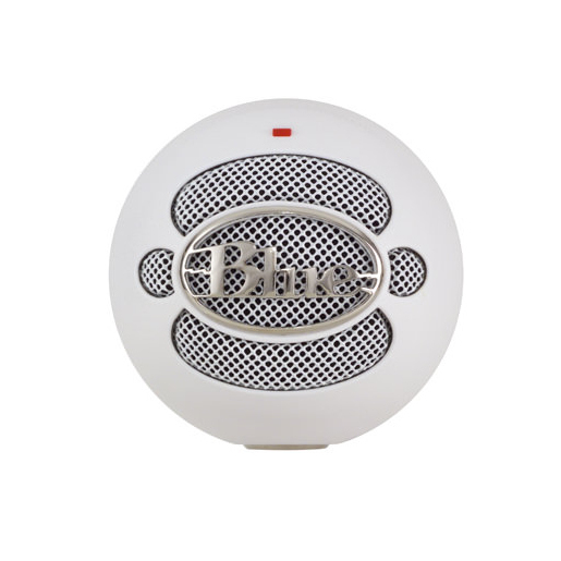 Image of Blue Microphones Snowball PC microphone Cablato Bianco