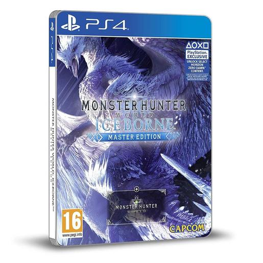 Image of Monster Hunter World: Iceborne Master Edition, PlayStation 4 Steelbook