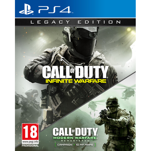 Image of Call of Duty: Infinite Warfare & Legacy Edition, PS4