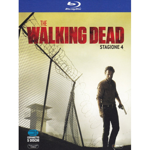 Image of The Walking Dead - Stagione 4 (5 Blu-Ray)