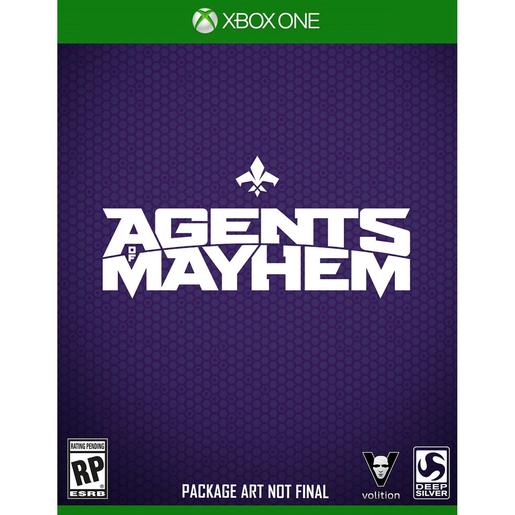 Image of Agents of Mayhem, Xbox One Basic Xbox One Inglese videogioco