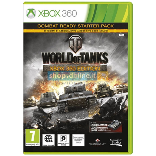 Image of Db-Line World of Tanks, X360 Basic Xbox 360 Inglese videogioco