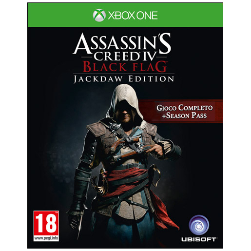 Image of Ubisoft Assassin's Creed IV Black Flag Jackdaw Edition