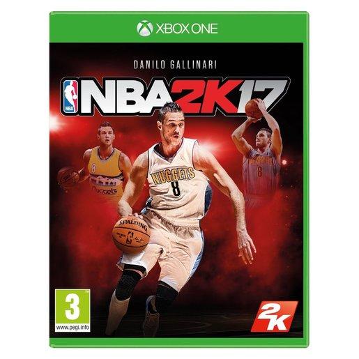 Image of NBA 2K17, Xbox One