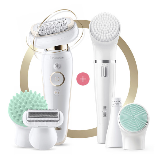 Braun Silk épil 9 Flex 9 300 Beauty Set Epilatore Elettrico Donna Co
