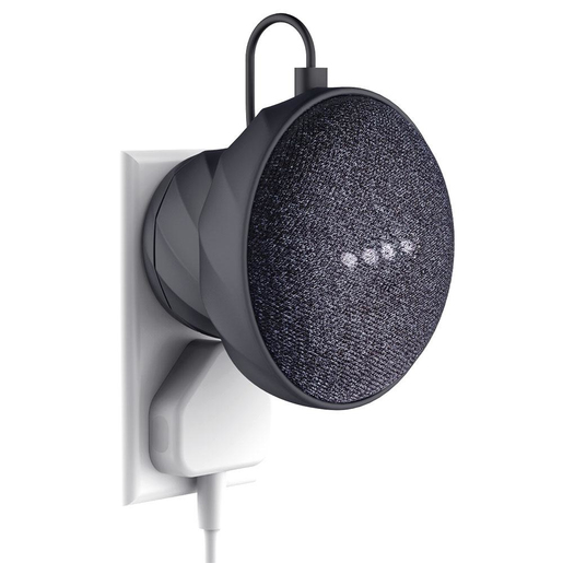 Image of Kiwi X000WPFMJZ supporto attivo per Google Home mini Nero