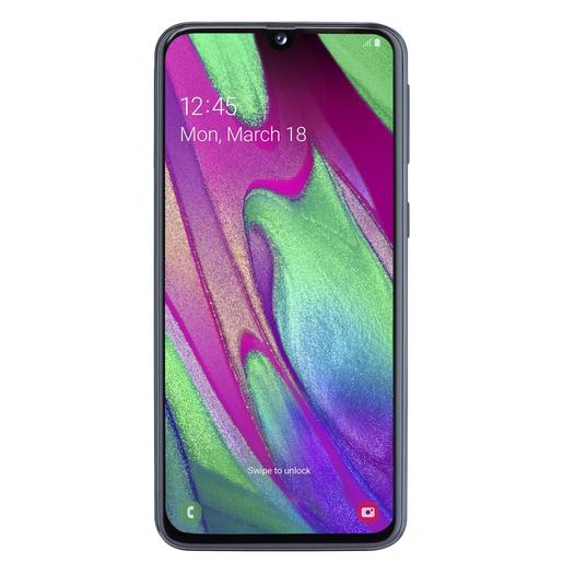 Image of Samsung Galaxy A40 15 cm (5.9'') 4 GB 64 GB Doppia SIM 4G Nero 3100 mAh