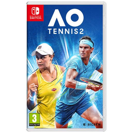 Image of Bigben Interactive AO Tennis 2 Basic ITA Nintendo Switch