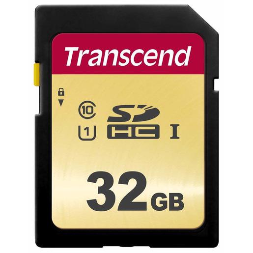 Transcend 32GB, UHS I, SDHC memoria flash Classe 10
