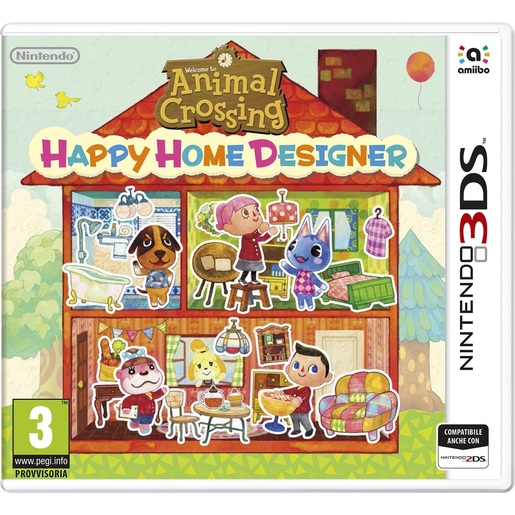 Image of Animal crossing happy home designer - Nintendo 3DS