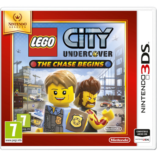Image of Nintendo Lego City Undercover: The Chase Begins, 3DS Selects