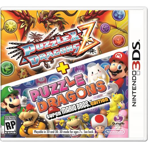 Puzzle & Dragons Z + Puzzle & Dragons: Super Mario Bros. edition Nin