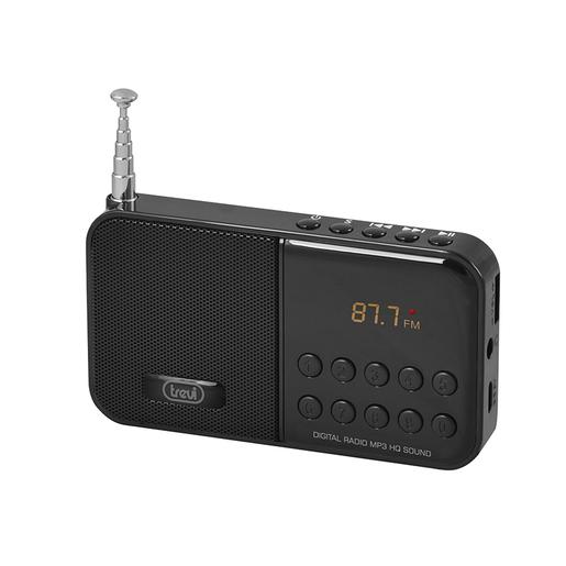 Trevi DR 740 SD Portatile Digitale Nero radio
