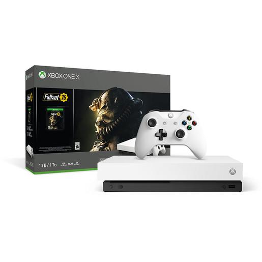Image of Microsoft Xbox One X 1000GB Wi-Fi bianca edizione speciale Robot + Fal
