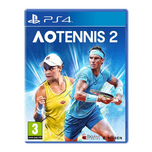 Image of Bigben Interactive AO Tennis 2 Basic ITA PlayStation 4