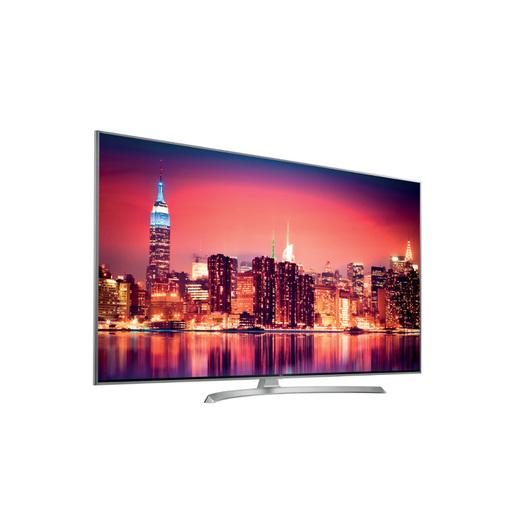 Image of LG 49SJ810V 49'' 4K Ultra HD Smart TV Wi-Fi Argento, Bianco LED TV