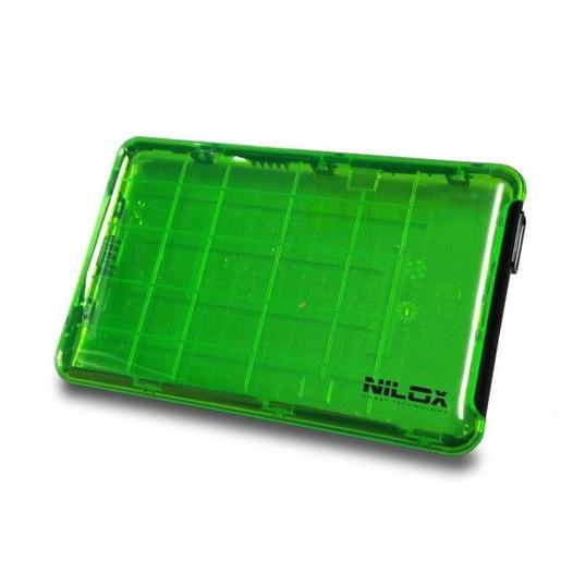 Nilox DH0002GT contenitore di unità di archiviazione 2.5'' Enclosure HD