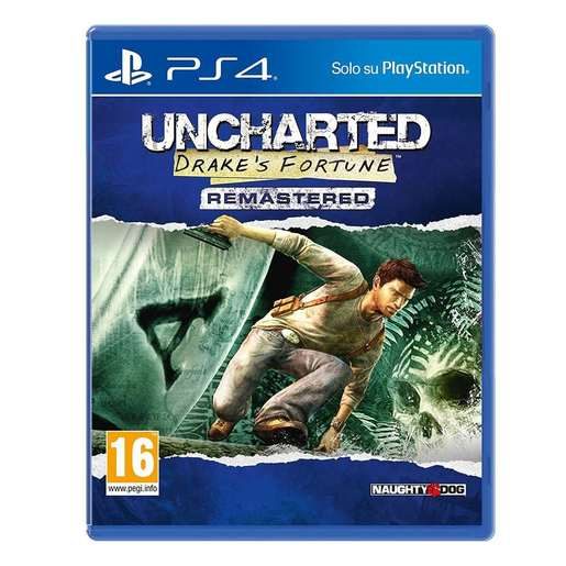 Uncharted: Drake's Fortune - rimasterizzato - PS4