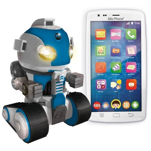 Image of Lisciani Mio Phone 5'' 3G + robot speciale edition