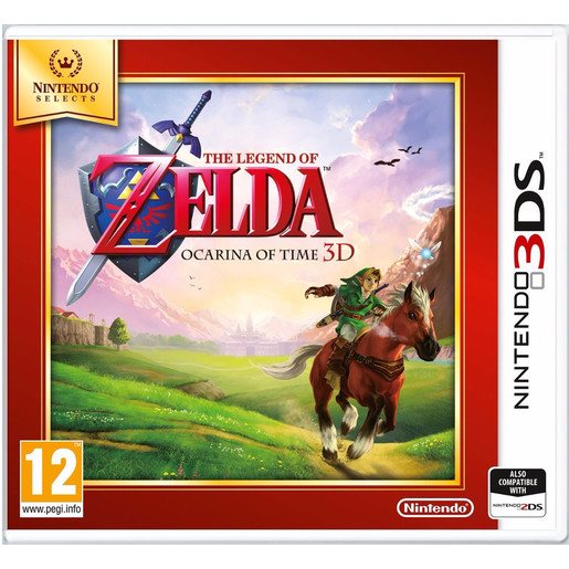 Image of Nintendo The Legend of Zelda: Ocarina of Time 3D, Selects