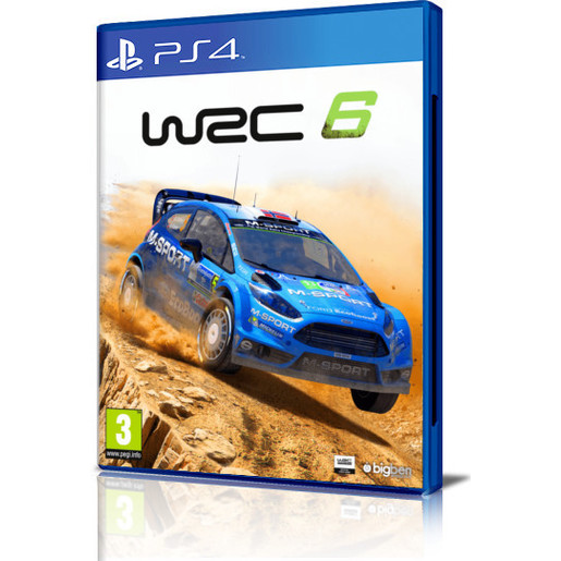 Image of WRC 6 - Playstation 4