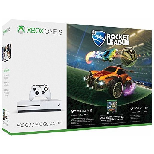 Image of Xbox One S 500 GB + Rocket League + 3 mesi Xbox Live