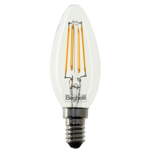 Image of Beghelli Oliva Zafiro 4W E14 Bianco caldo lampada LED