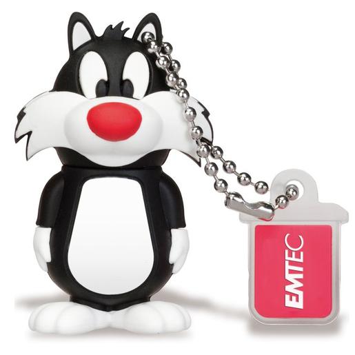 Image of Emtec 8GB USB2.0 L101 LT Silvestro 8GB USB 2.0 Nero, Bianco USB flash