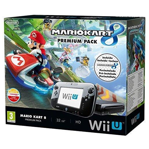 Nintendo Wii U: Premium Pack + Mario Kart 8