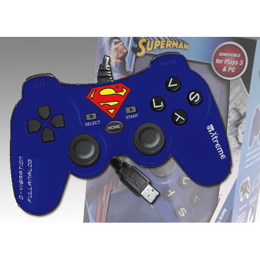 Image of Xtreme Controller PS3 Superman