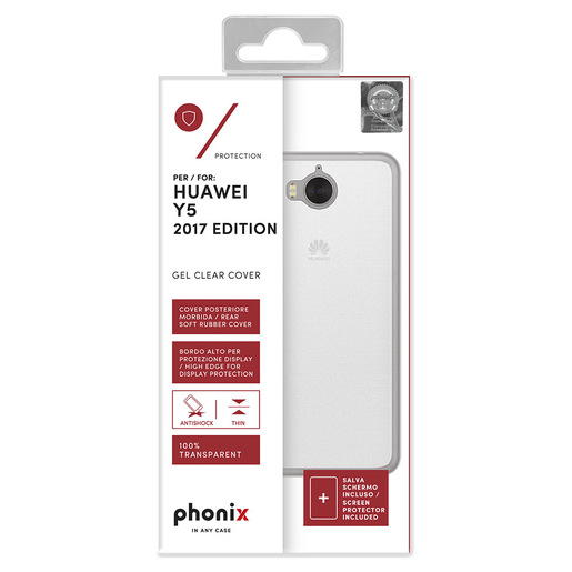 Image of Phonix Cover Gel Protection Plus - White - Huawei Y5 2017