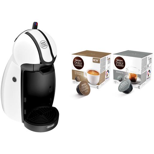 Image of DeLonghi EDG 100.W Macchina per caffè con capsule 0.6L Bianco macchina