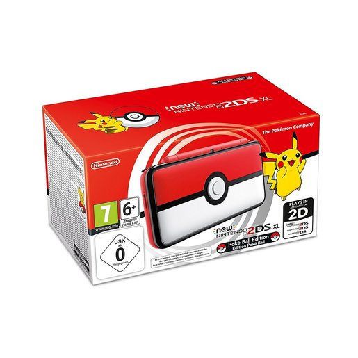 Image of Nintendo New 2DS XL Poké Ball edizione limitata 4.88'' Touch screen Wi-
