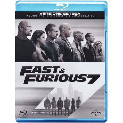 Image of Fast and furious 7 (Blu-ray)
