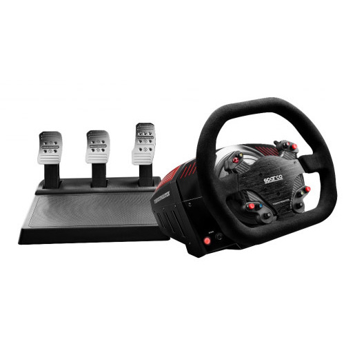 Image of Thrustmaster TS-XW Racer Sparco P310 Nero Sterzo + Pedali Digitale PC,