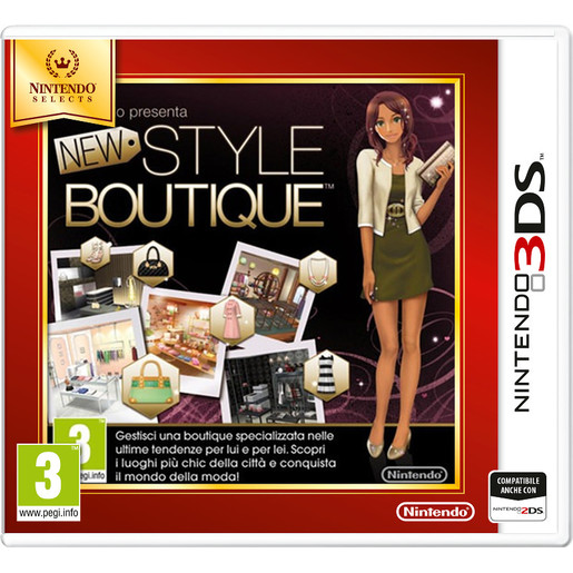 Image of Nintendo New Style Boutique, 3DS Selects
