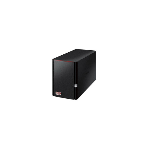 Buffalo LinkStation 520 Collegamento ethernet LAN Nero NAS